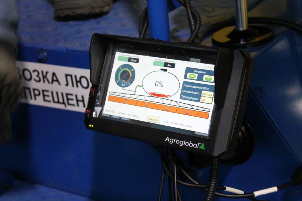 Агронавигатор Agroglobal AGN АТ5  (2х частотный приемник + RTK)