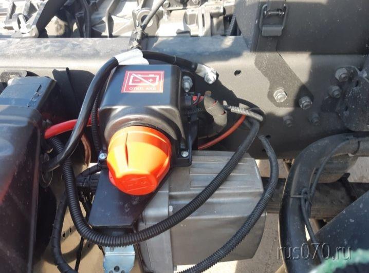 Главный выключатель АКБ IP65 EX на 24V