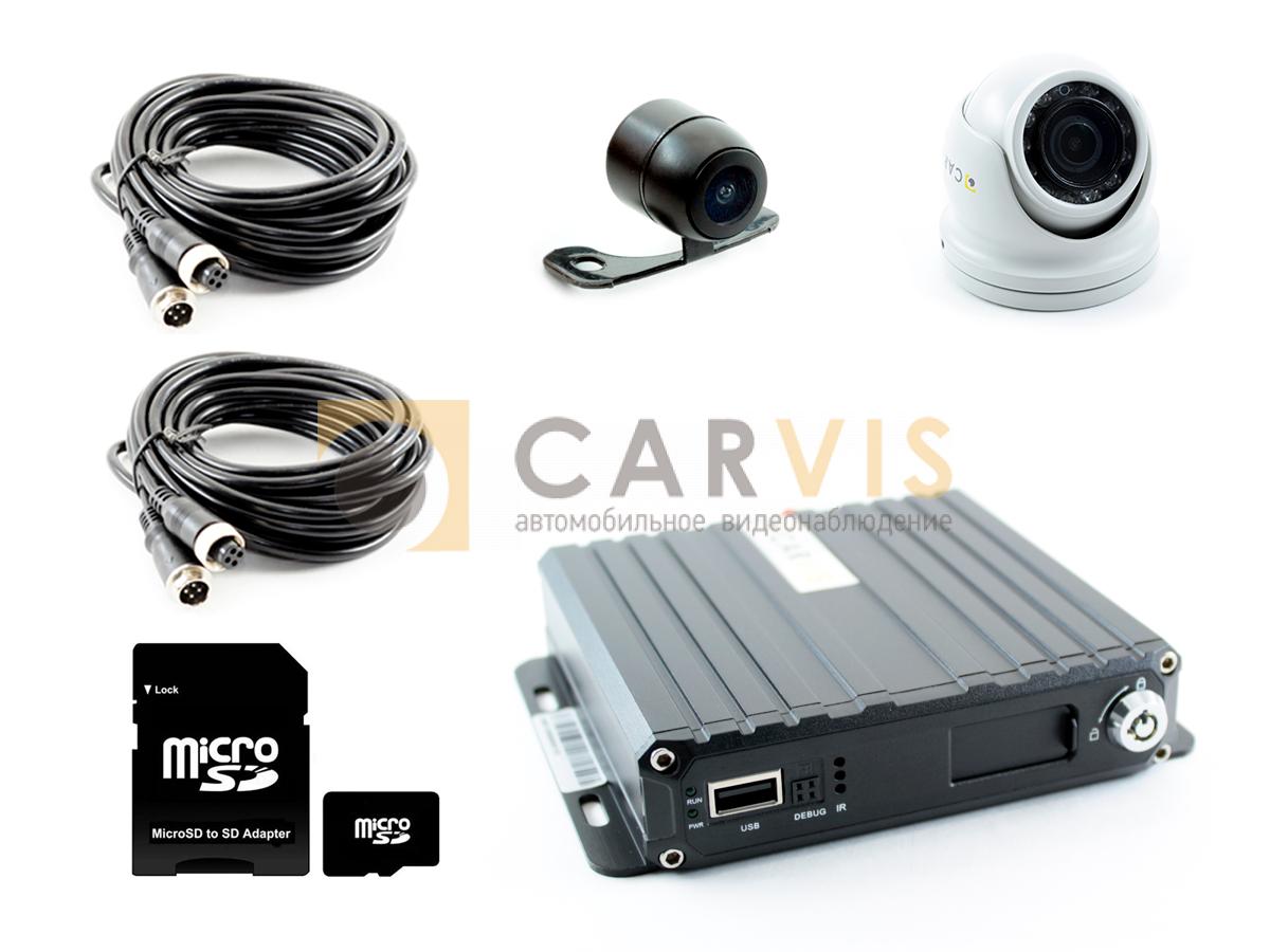 Комплект видеонаблюдения для службы доставки и коммерческого фургона