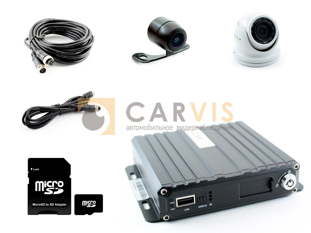 Комплект видеонаблюдения для автомобиля скорой помощи