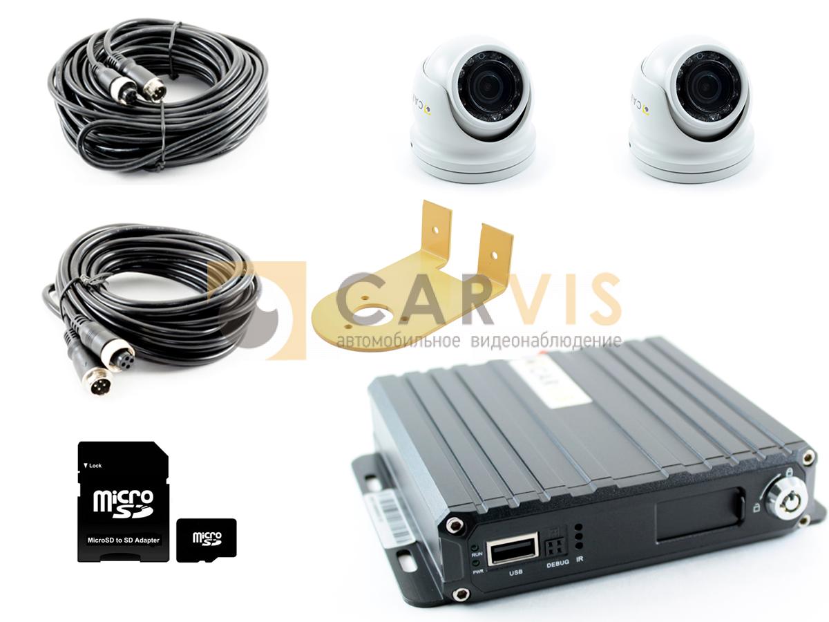 Комплект видеонаблюдения для техники коммунальных служб