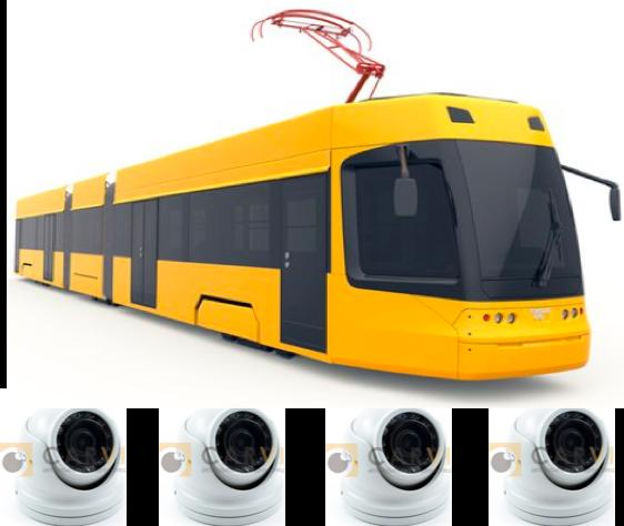 Комплект видеонаблюдения для трамвая и троллейбуса под ПП РФ № 969