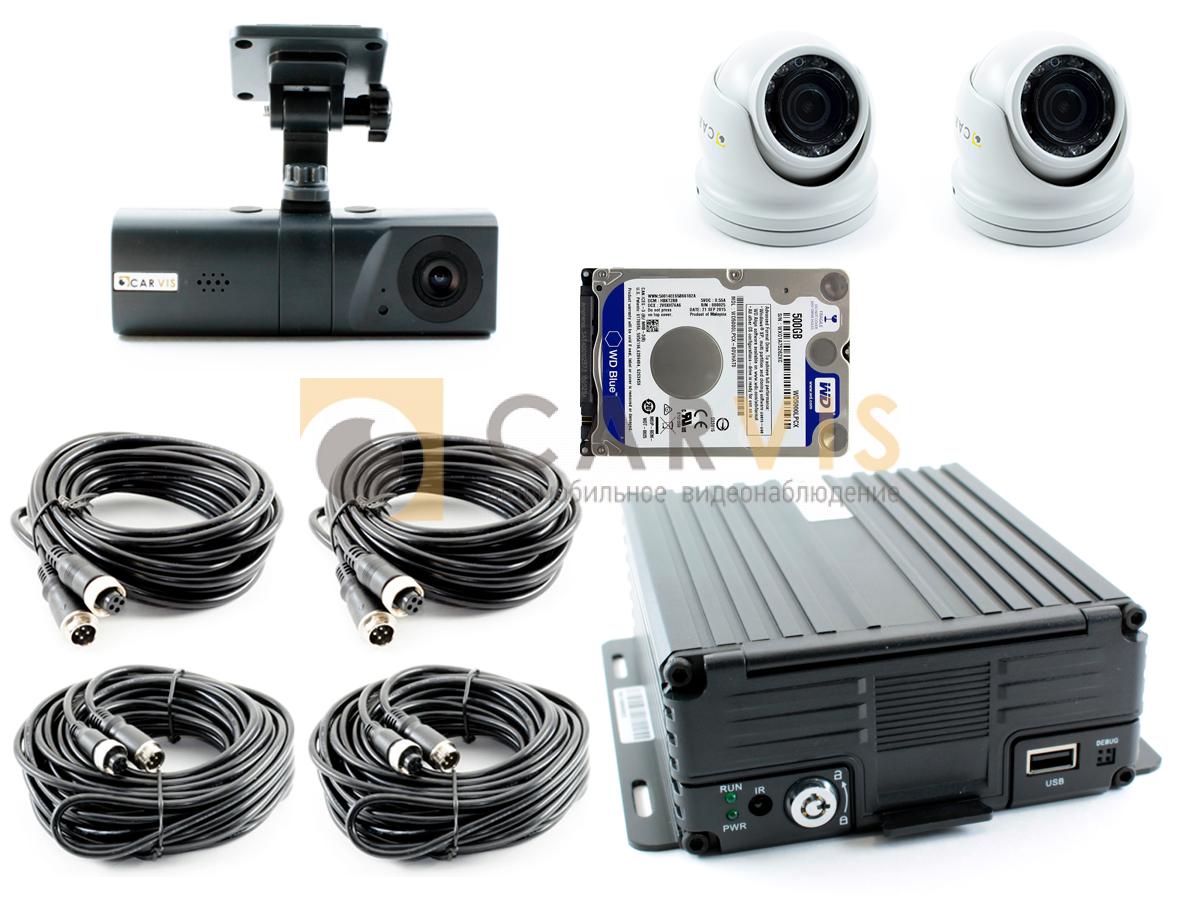 Комплект видеонаблюдения для строительной техники