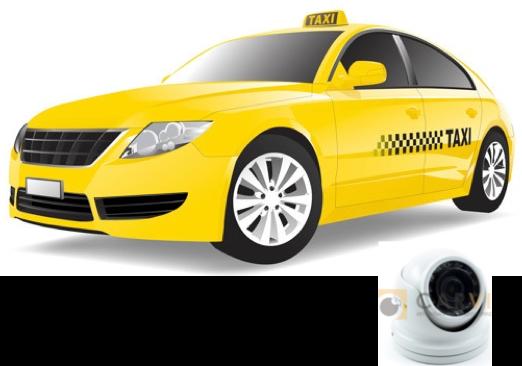 Комплект видеонаблюдения для такси, служебного транспорта и ЧОП